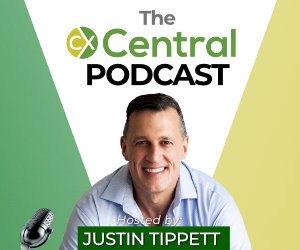 CX Central Podcast host Justin Tippett