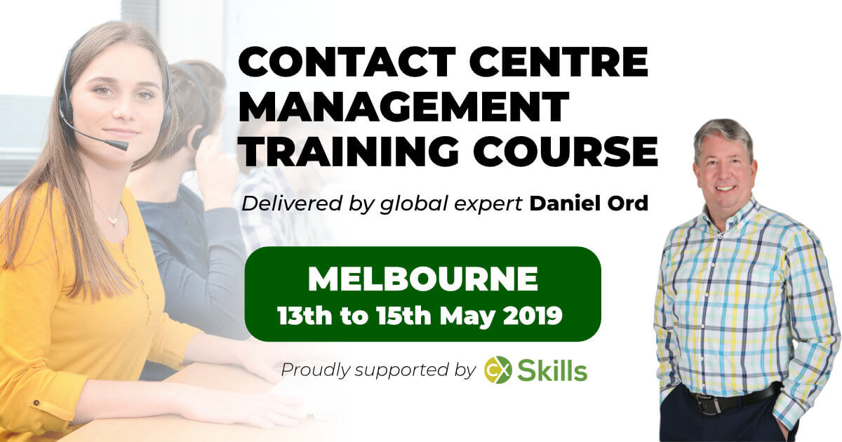 Contact Centre Management Training Course in Melbourne