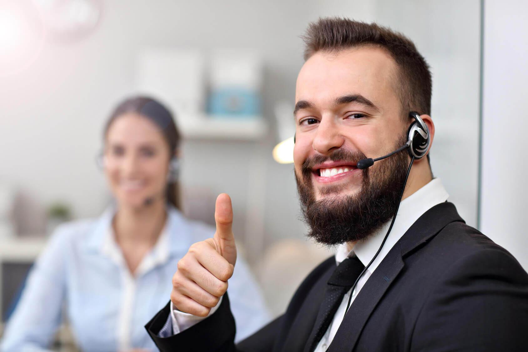 call centre sales training