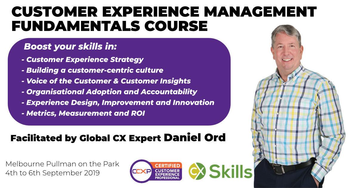 Customer Experience Management Fundamentals Workshop Melbourne