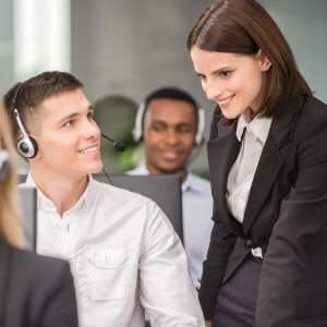 Contact Centre Team Leader training courses online