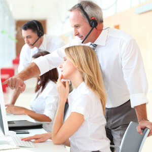 how to give feedback to call centre agents