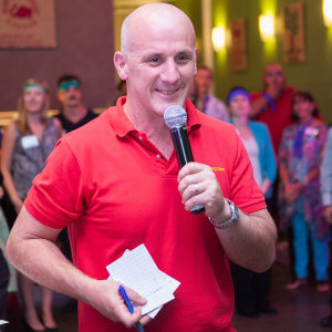 Mike Symonds facilitating training groups for CX Skills